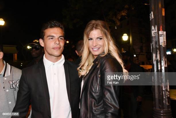 Mad Mag chronicler Julien Castaldi son of TV presenter Benjamin Castaldi and grandson of actor Jean Pierre Castaldi and girlfriend Ludivine Birker...