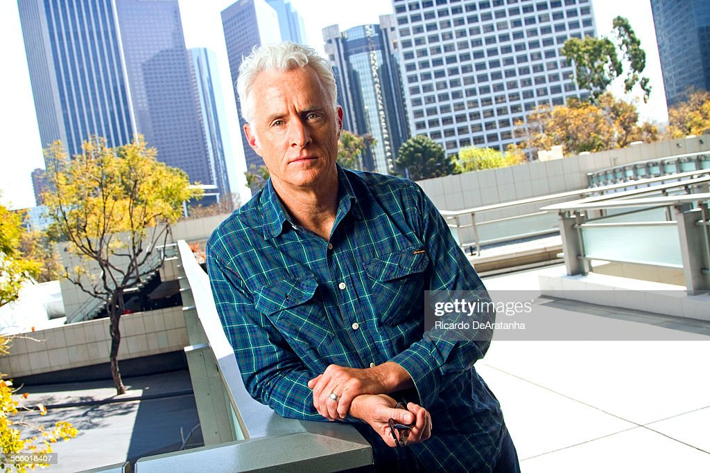 'Mad Men' actor John Slattery photographed at Los Angeles Center Studios, in Los Angeles, Californi : News Photo