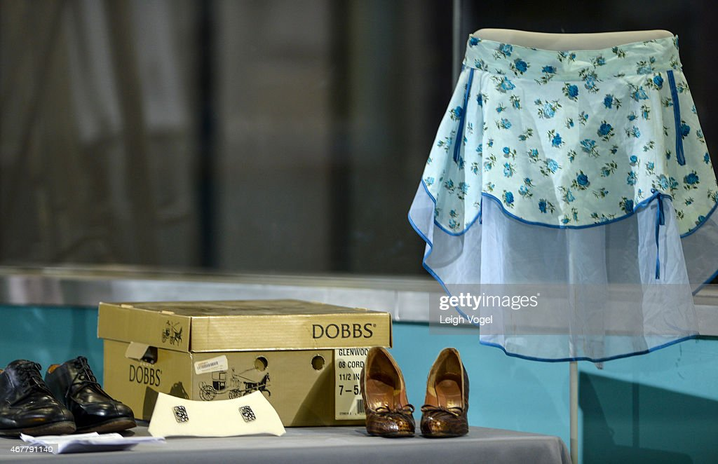 Mad Men object are seen on display during on display the Smithsonian Museum Of American History: Mad Men Ceremony at Smithsonian National Museum Of American History on March 27, 2015 in Washington, DC.