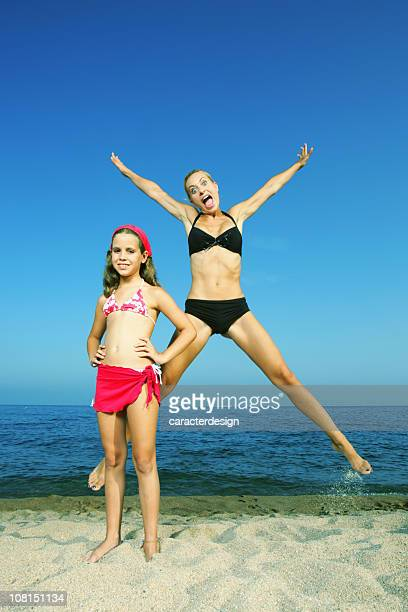 mad mom, quiet child - legs apart stock photos and pictures