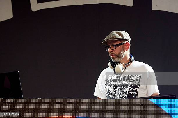 Mad of Beginner performs live on stage during the second day of the Lollapalooza Berlin music festival at Treptower Park on September 11 2016 in...