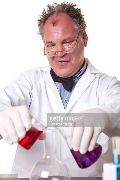 Mad Scientist creating