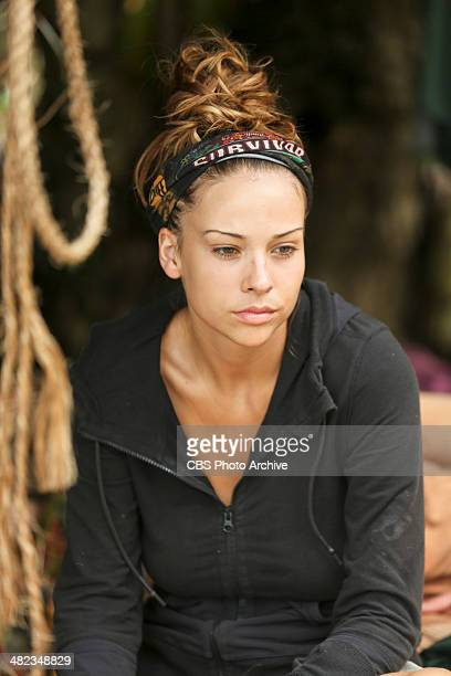 Mad Treasure Hunt Morgan McLeod during the seventh episode of SURVIVOR CAGAYAN Wednesday April 9 on the CBS Television Network