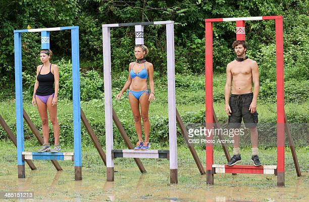 Mad Treasure Hunt Morgan McLeod Jefra Bland and Jeremiah Wood compete for Immunity during the seventh episode of SURVIVOR CAGAYAN Wednesday April 9...