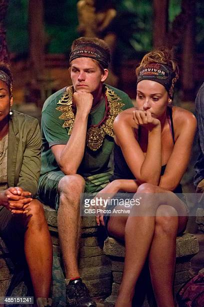 Mad Treasure Hunt Spencer Bledsoe and Morgan McLeod during the seventh episode of SURVIVOR CAGAYAN Wednesday April 9 on the CBS Television Network