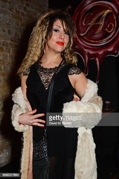 Mada Zahatta attends The Perfumer's Story evening of Scentsory delights hosted by Aures London Azzi Glasser at Sensorium on March 21 2018 in London...