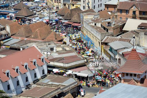 madagascar, antananarivo, cityscape - antananarivo stock photos and pictures