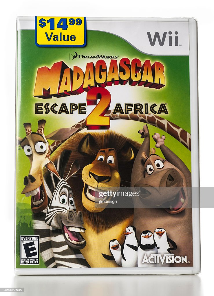 Madagascar Escape 2 Africa Wii Game Stock Photo - Getty Images