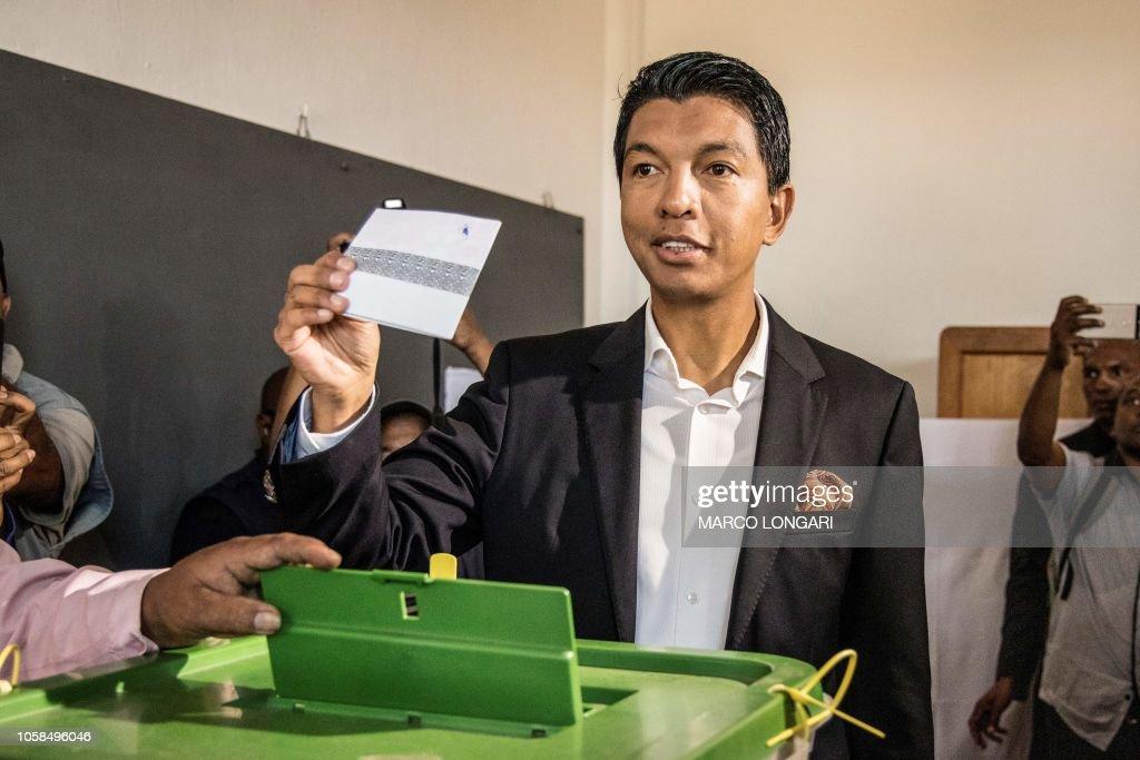 MADAGASCAR-VOTE : News Photo