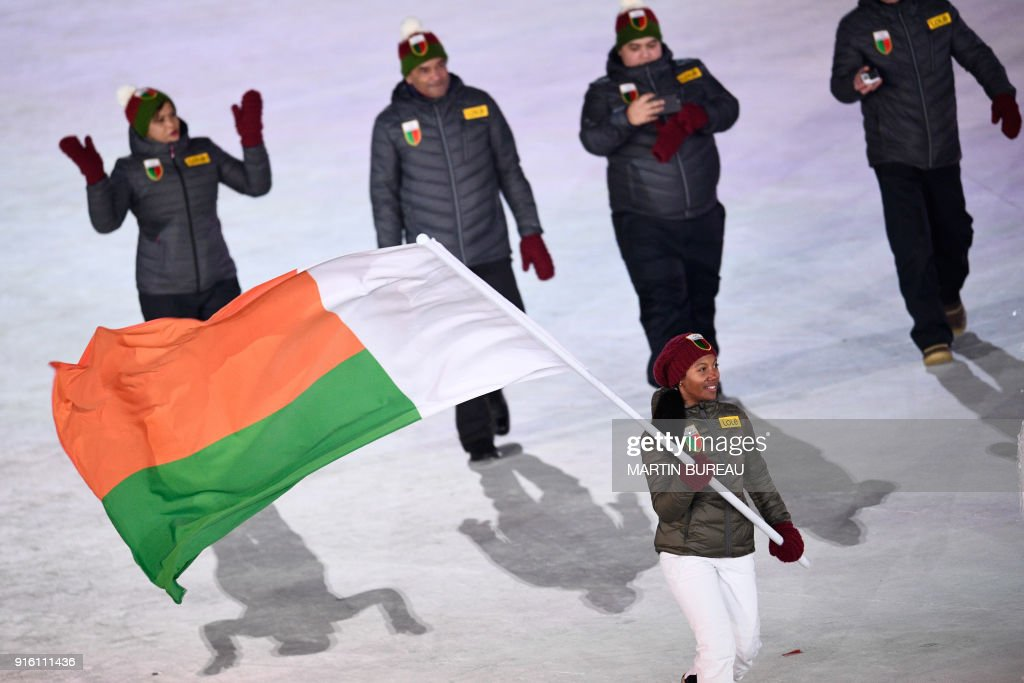 OLY-2018-PYEONGCHANG-OPENING-DELEGATIONS : News Photo