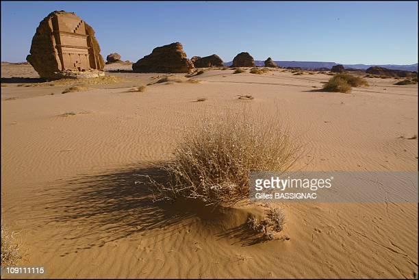 Mada'In Salah, The Second Nabataean Capital. On June 1, 2003 In Saudia Arabia. Tomb Of Qsar Al Farid.