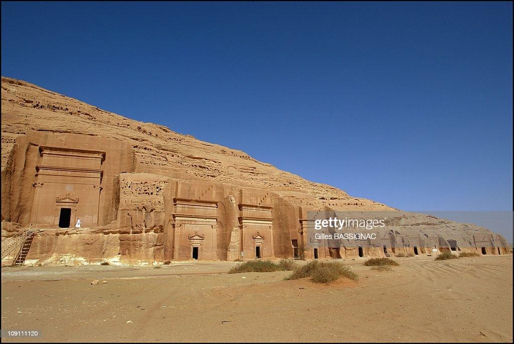 Mada'In Salah, The Second Nabataean Capital. On June 1, 2003 In Saudia Arabia : News Photo
