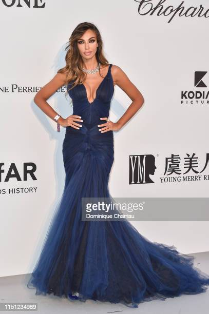 Madalina Diana Ghenea attends the amfAR Cannes Gala 2019 at Hotel du CapEdenRoc on May 23 2019 in Cap d'Antibes France