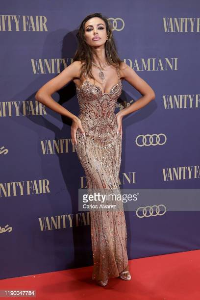 Madalina Diana Ghenea attends the Vanity Fair awards 2019 at the Royal Theater on November 25, 2019 in Madrid, Spain.
