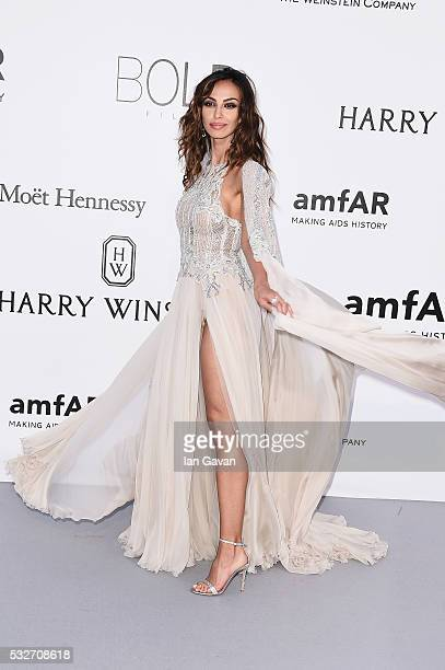Madalina Ghenea arrives at amfAR's 23rd Cinema Against AIDS Gala at Hotel du CapEdenRoc on May 19 2016 in Cap d'Antibes France