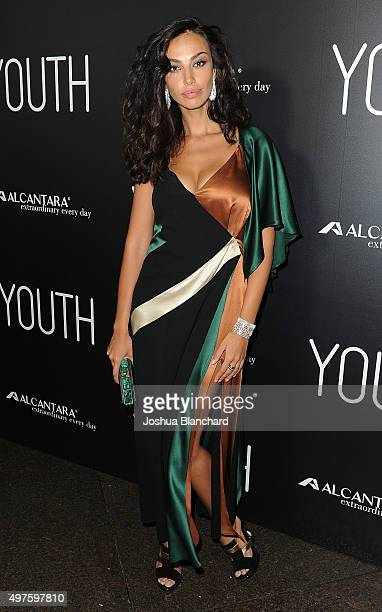 Madalina Ghenea arrives at the premiere of Fox Searchlight Pictures' Youth at DGA Theater on November 17 2015 in Los Angeles California