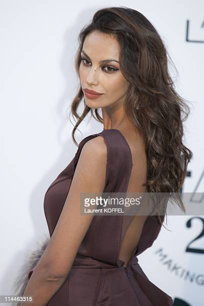 Madalina Ghenea attends amfAR's Cinema Against AIDS Gala during the 64th Annual Cannes Film Festival at Hotel Du Cap on May 19 2011 in Antibes France