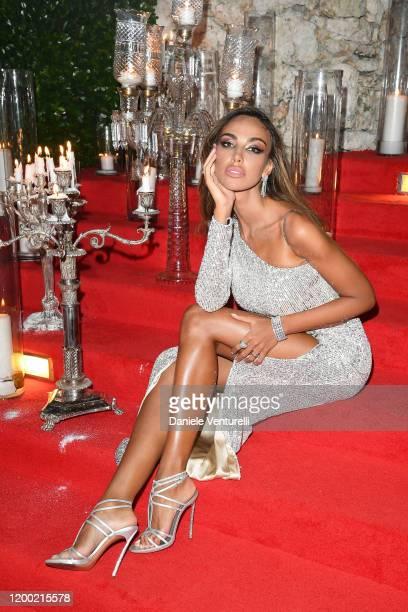 Madalina Ghenea attends Cana Dorada Film Music Festival White Gala Latin Night on January 17 2020 in Punta Cana Dominican Republic