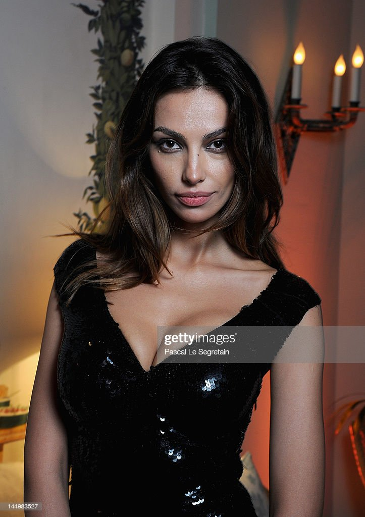 Madalina Ghenea attends the exclusive Filmmakers Dinner during the Cannes International Film Festival hosted by Swiss watch manufacturer IWC Schaffhausen in partnership with Finch's Quarterly Review at the famous Hotel du Cap-Eden-Roc on May 21, 2012 in Cap d'Antibes, France.