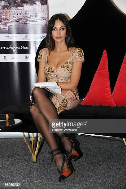 Madalina Ghenea attends the fourth day of the 16th Annual Capri Hollywood International Film Festival on December 30 2011 in Capri Italy