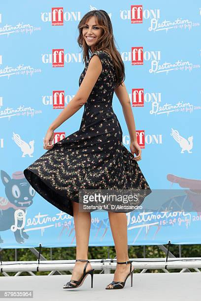 Madalina Ghenea attends the Giffoni Film Festival Day 10 photocall on July 24 2016 in Giffoni Valle Piana Italy