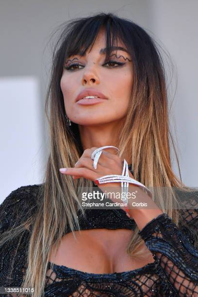 """Madalina Ghenea attends the red carpet of the """"Kineo Prize"""" during the 78th Venice International Film Festival on September 05, 2021 in Venice, Italy."""