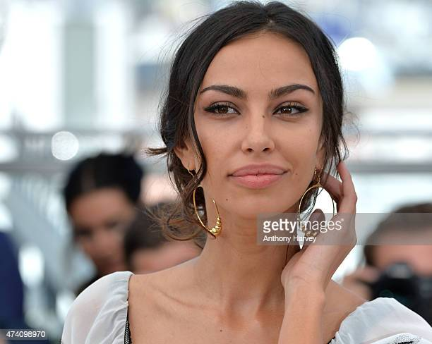 Madalina Ghenea attends the Youth photocall during the 68th annual Cannes Film Festival on May 20 2015 in Cannes France