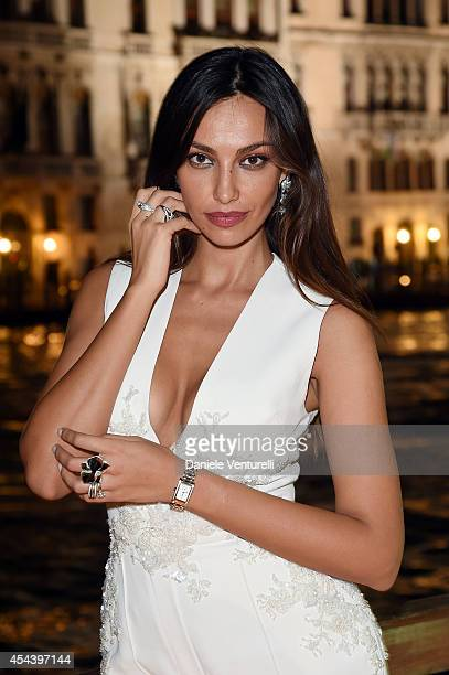 Madalina Ghenea attends Tiziana Rocca Birthday Party during the 71st Venice Film Festival at Centurion Palace Hotel on August 30 2014 in Venice Italy