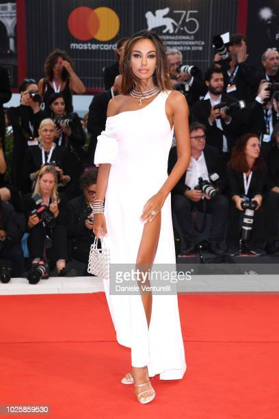 Madalina Ghenea walks the red carpet ahead of the 'Suspiria' screening during the 75th Venice Film Festival at Sala Grande on September 1 2018 in...