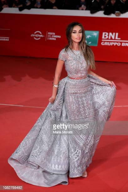 Madalina Ghenea walks the red carpet during the 13th Rome Film Fest at Auditorium Parco Della Musica on October 22 2018 in Rome Italy