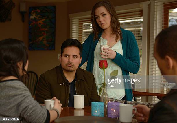 Madalyn Horcher Michael Pena and Virginia Kull in Episode Eight of GRACEPOINT airing Thursday Nov 20 2014 on FOX