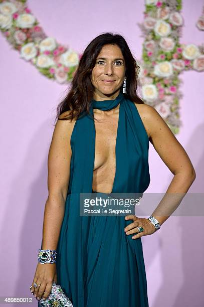 Madam Philippe Journo attends a photocall during The Ballet National de Paris Opening Season Gala at Opera Garnier on September 24 2015 in Paris...