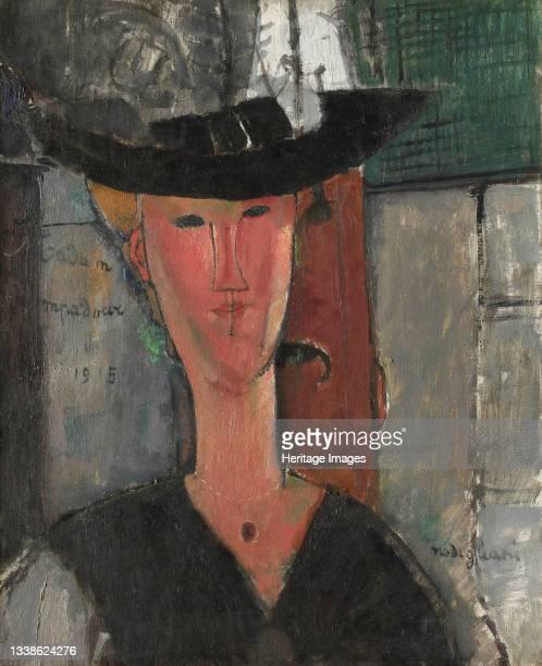 Madam Pompadour, 1915. Artist Amadeo Modigliani.