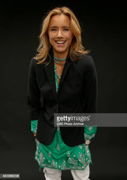 CBS' 'Madam Secretary' actress Tea Leoni poses for a portrait during CBS' 2014 Summer TCA tour at The Beverly Hilton Hotel on July 17 2014 in Beverly...