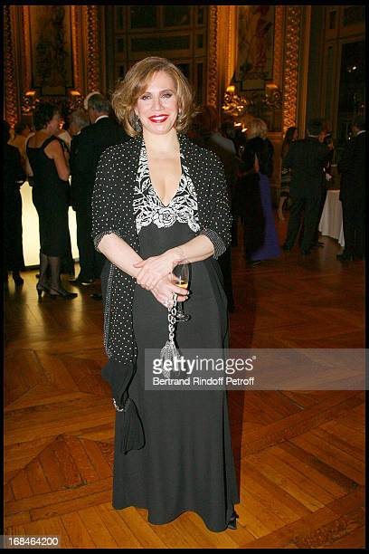 Madame Akram Ojjeh at Gala Of The Association For The Influence Of The National Paris Opera At Palais Garnier