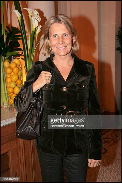 Madame Alain Flammarion at Emilio Pucci Catwalk Show Autumn Winter 2008/2009 Collection At The Plaza Athenee In Paris