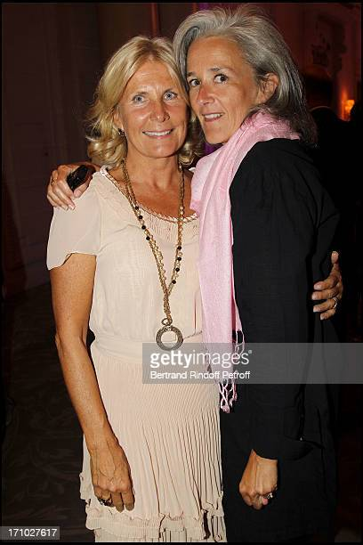 Madame Alain Flammarion Tatiana of Rosnay at Gala Evening For The 40th Anniversary Of The Claude Pompidou Foundation