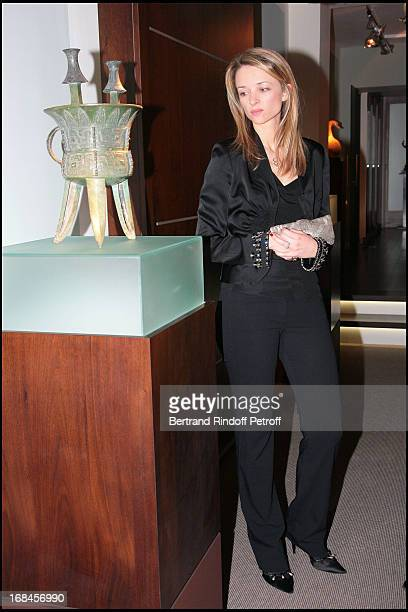 Madame Alessandro Vallarino Gancia at Gala Opening Evening At The Christian Deydier Art Exhibition In Paris