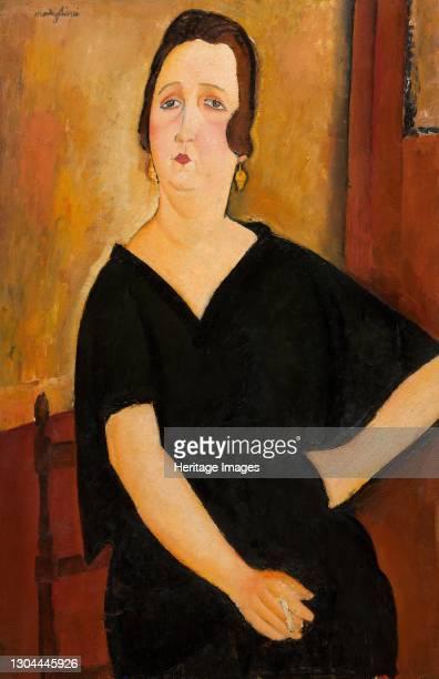 Madame Amédée , 1918. Artist Amadeo Modigliani.