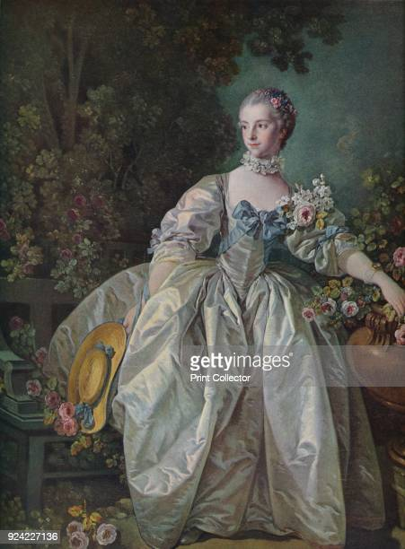 'Madame Bergeret' 1766 The painting is part of the Kress Collection National Gallery of Art Washington DC From Masterpieces of Painting edited by...