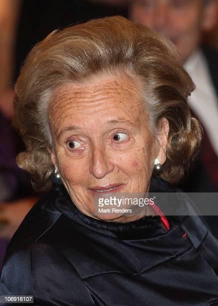 Madame Bernadette Chirac attends a concert at Laeken Castle at Laeken Castle on November 16 2010 in Brussels Belgium