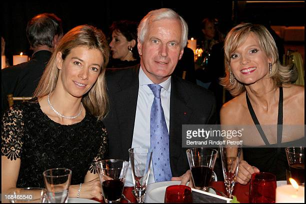 Madame Brice Hortefeux Michel Barnier Helene Arnault at Private Viewing Of The Exhibition Picasso Et Les Maitres At Grand Palais In paris