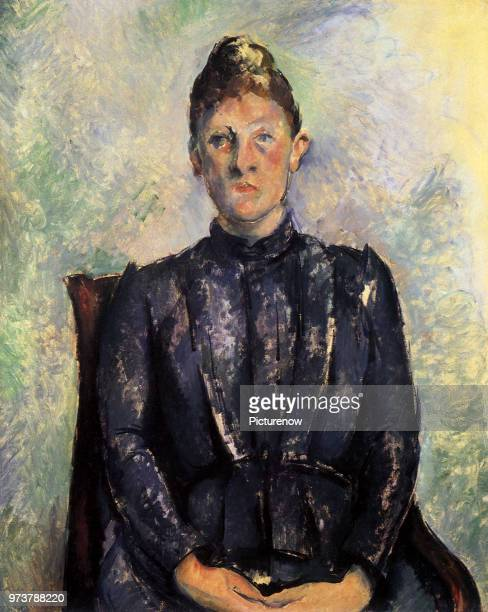 Madame Cezanne Cezanne Paul 1885