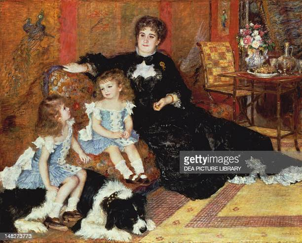 Madame Charpentier and her children by PierreAuguste Renoir New York The Metropolitan Museum Of Art