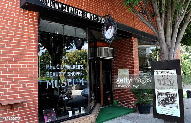 Madame C.J. Walker Beauty Shoppe and Museum on July 17, 2015 in Atlanta, Georgia.