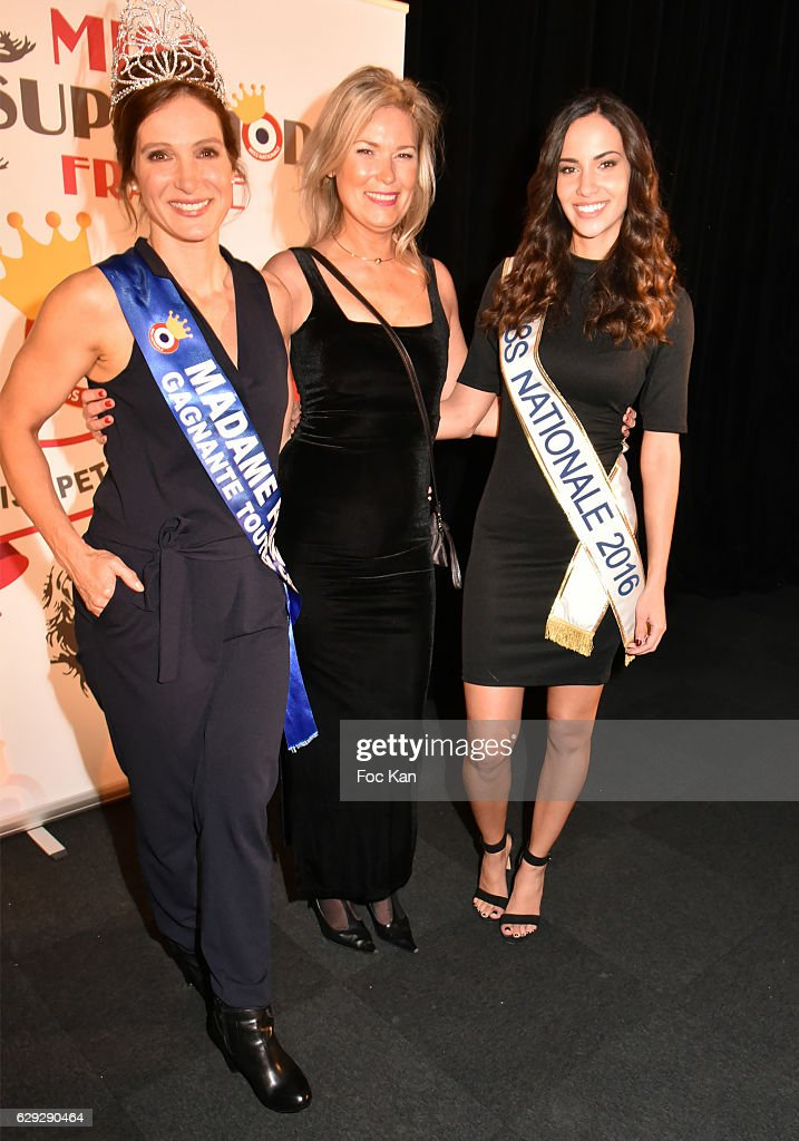 """""""Supermodel France 2017"""" and """"Miss Petite France 2017"""" : Election Ceremony Hosted by """"Comite Miss Nationale"""" In Paris : News Photo"""