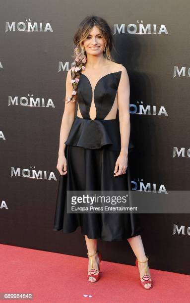 Madame de la Rosa attends the premiere for 'The Mummy' at Callao Cinema on May 29 2017 in Madrid Spain