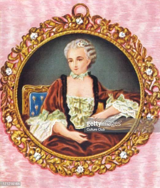 Madame de Pompadour Portrait of the mistress of King Louis XV of France 1721 – 15 April 1764