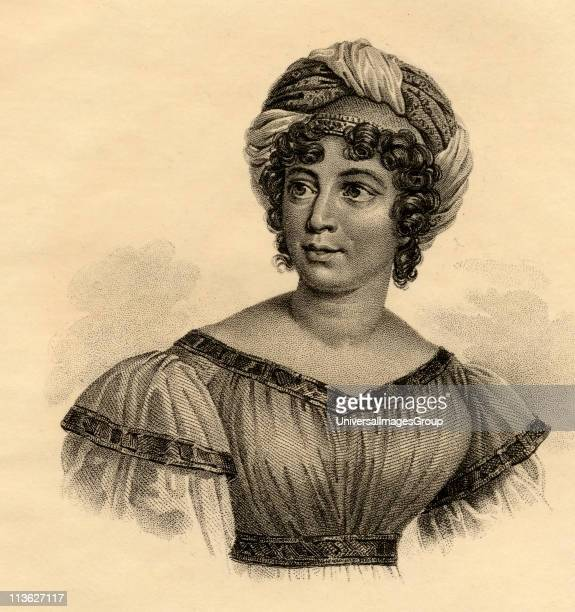 Madame de Stael Baroness de StaelHolstein17661817 Author and political propagandistPhotoetching after the painting by Gerard From the book ' Lady...