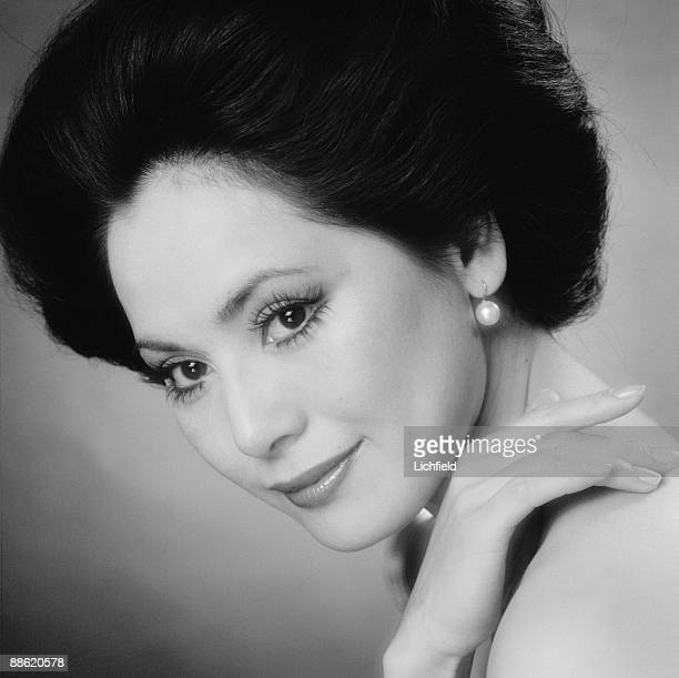 Madame Dewi Sukarno Japanese born socialite and wife of the former Indonesian leader photographed on 11th June 1974
